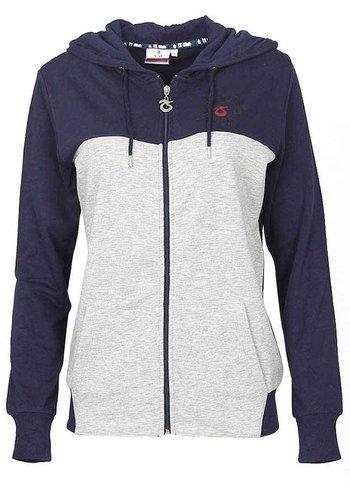 Trabzonspor Navy Blue Zipper Hooded Sweater