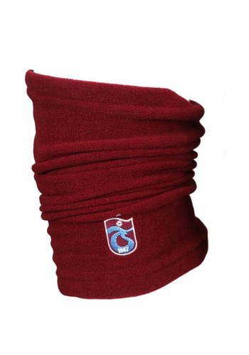 Trabzonspor Volwassen Logo Bordeaux nekwarmer