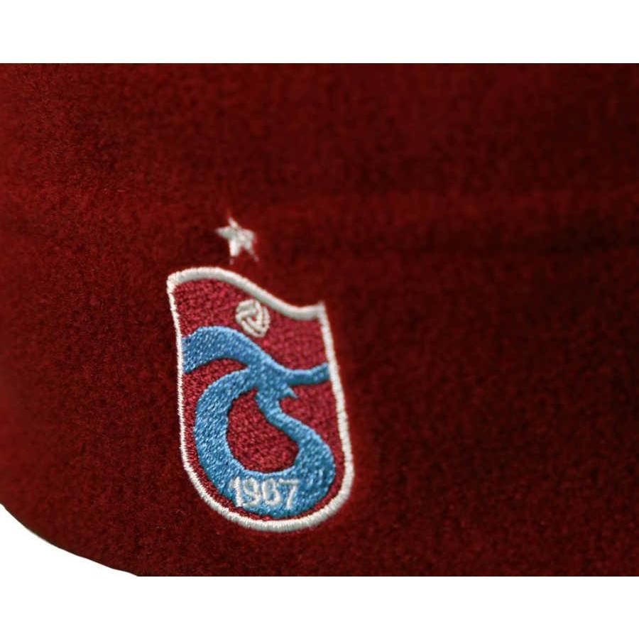 Trabzonspor Volwassen Logo Bordeaux Muts