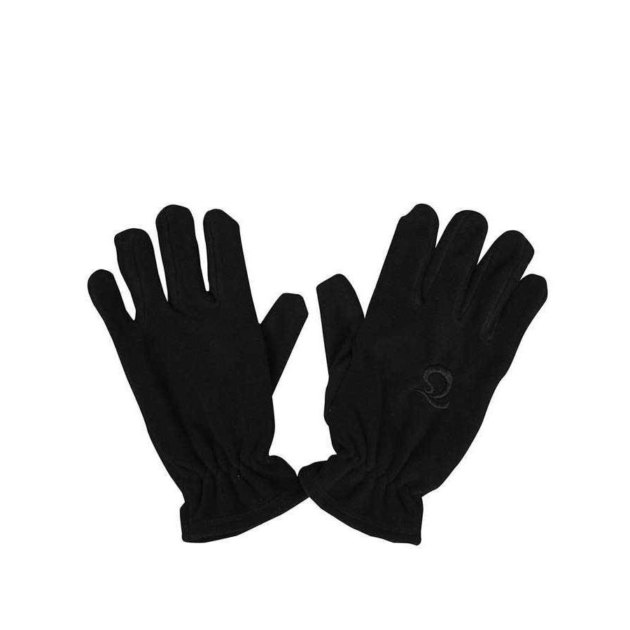 Trabzonspor Adults Black Emboss Logo Gloves