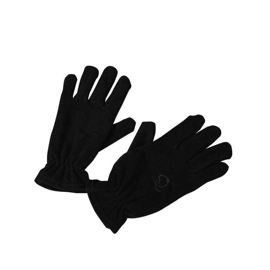 Trabzonspor Volwassen Reliëf Logo Zwart Handschoenen