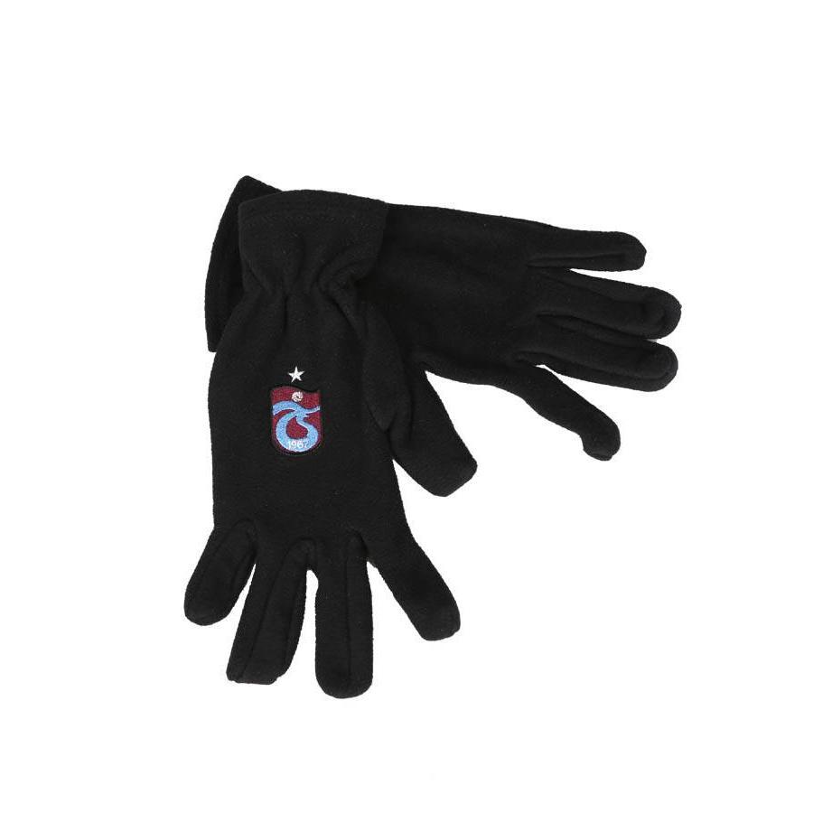 Trabzonspor Enfants Gants Logo Noir