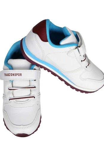 Trabzonspor White Burgundy Blue (Booties) Special Creation Sport Shoes