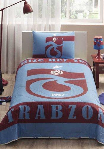 Trabzonspor Taç licensed Bed Sheet Set 'Bize Her Yer Trabzon'