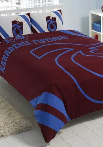 Trabzonspor Tweepersoons Beddengoedset 'Karadeniz Fırtınası'