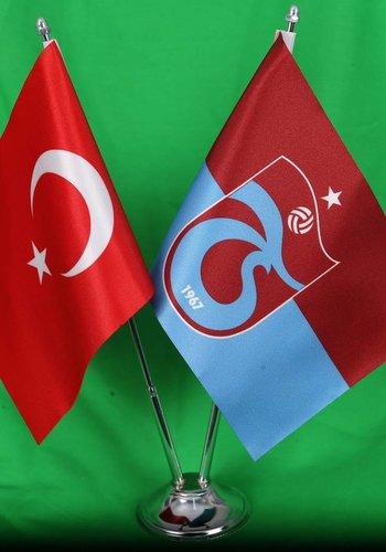 Trabzonspor Table Flag Pieced Set 15*22,5 CM