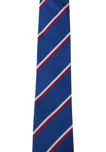 Trabzonspor Cravate en Soie Bleu Marin