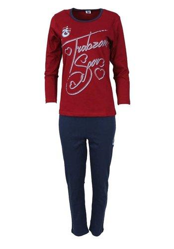 Trabzonspor Pyjama Jugend 8182-V1
