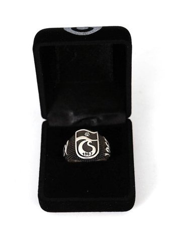 Trabzonspor Handmade Silver Ring Y1