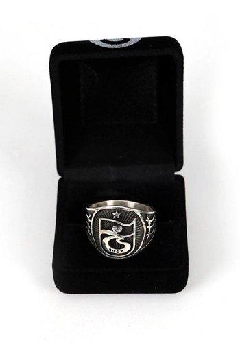 Trabzonspor Handgemaakte Zilveren Ring Y2