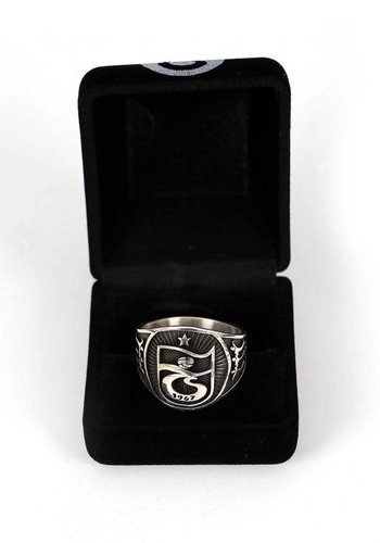 Trabzonspor Handmade Silver Ring Y2