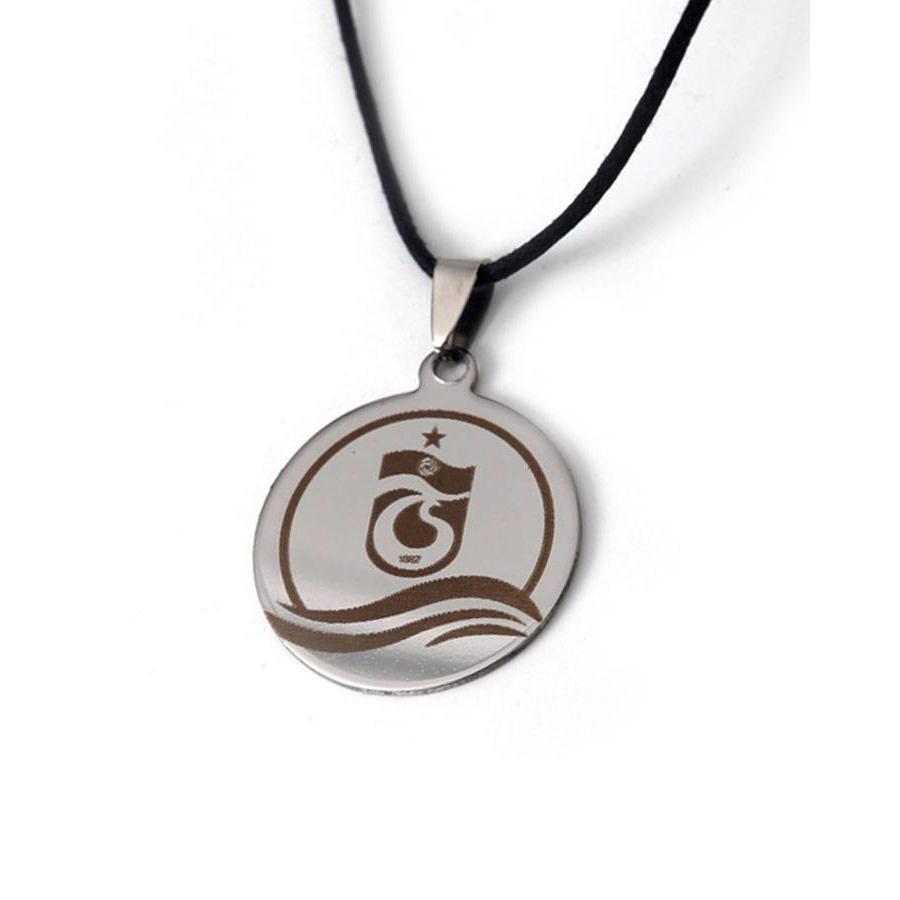 Trabzonspor Steel Logo Necklace