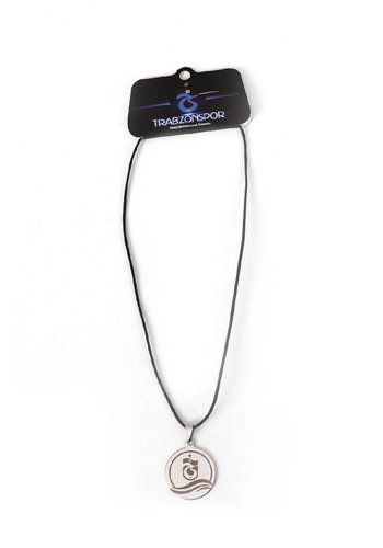 Trabzonspor Steel Logo Necklace