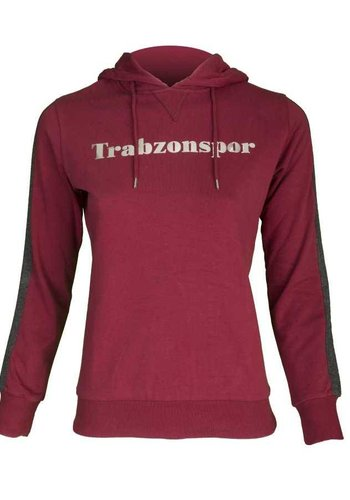 Trabzonspor Burgundy Hooded Sweater