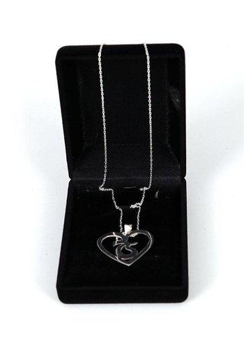 Trabzonspor Handmade Silver Necklace K1