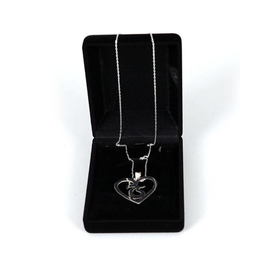 Trabzonspor Handgemaakte Zilveren Halsketting K1