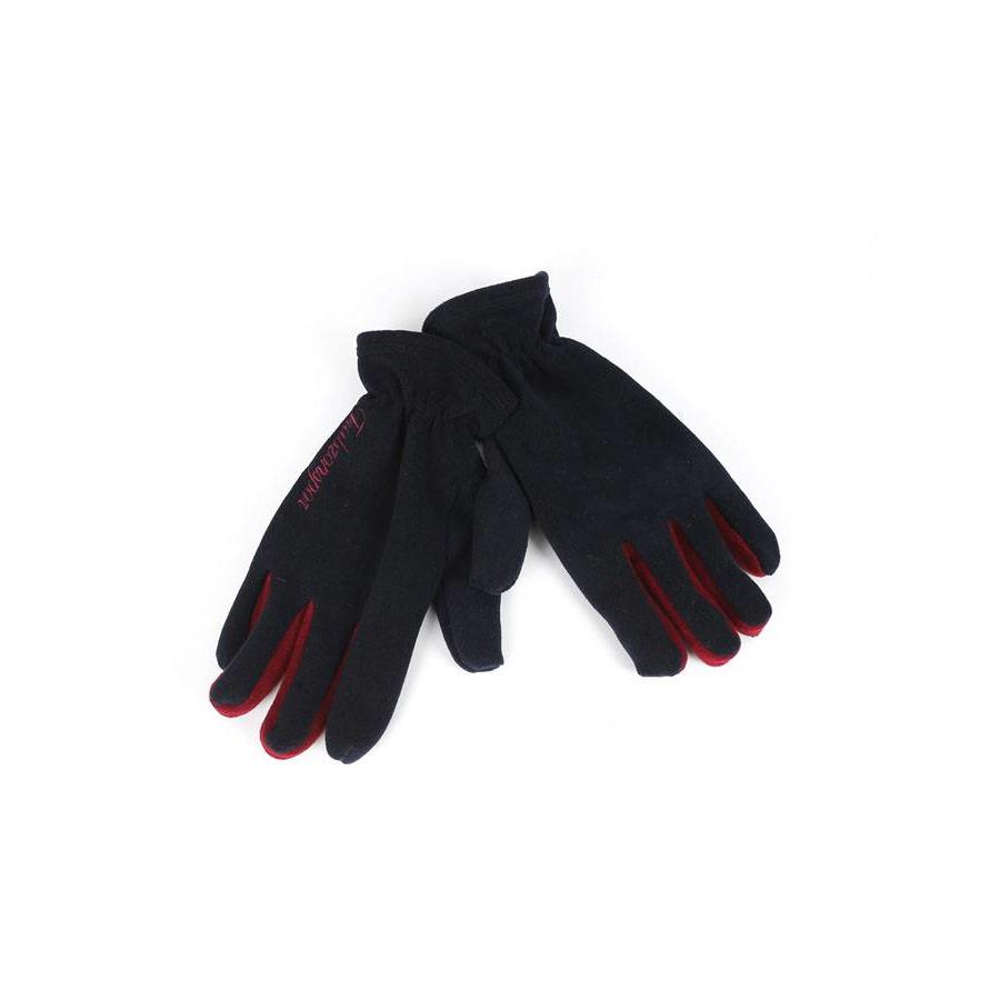 Trabzonspor Adults Navy Blue TS Written Gloves