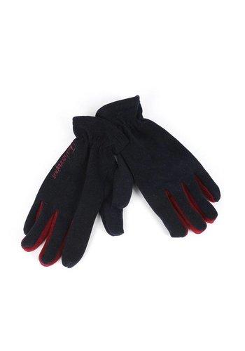 Trabzonspor Kinderen TS Geschreven Marineblauw Handschoenen