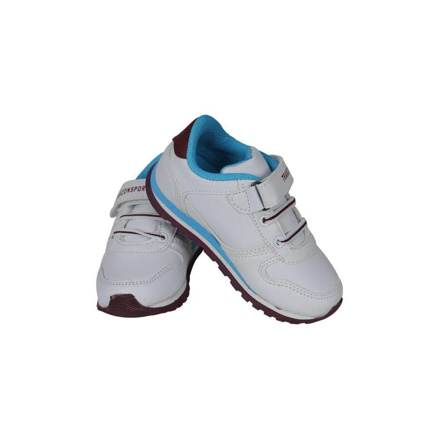 Trabzonspor White Burgundy Blue Special Creation Sport Shoes