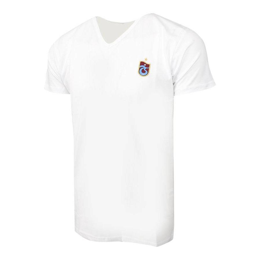 Trabzonspor White T-Shirt Basic