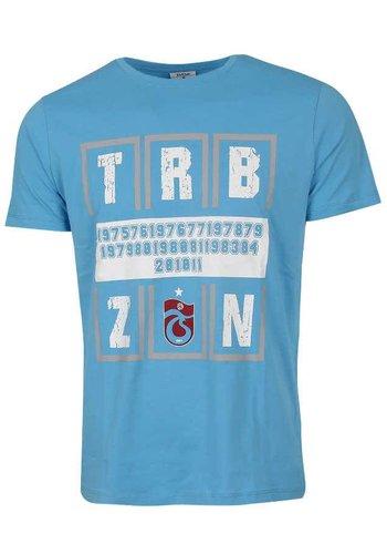 Trabzonspor Blue T-Shirt Basic TRBZN