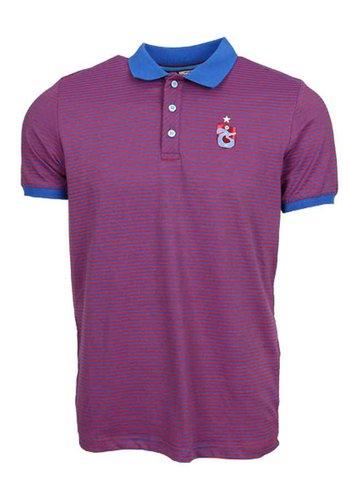 Trabzonspor Gestreift Polo T-Shirt