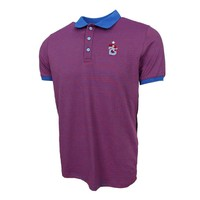 Trabzonspor Gestreift Polo T-Shirt