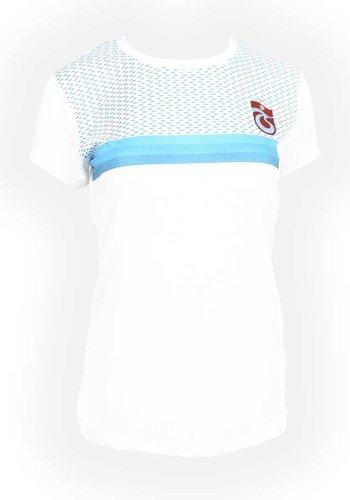 Trabzonspo Weiss Poly T-Shirt Damen