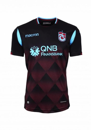 Trabzonspor 18/19 Macron Shirt Zwart