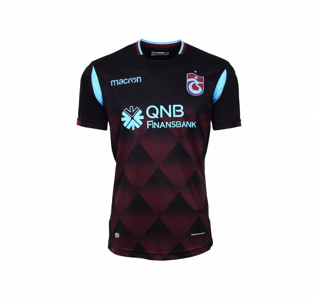 1e284a063987 TS Club Europe - Trabzonspor 18 19 Macron Black Football Shirt