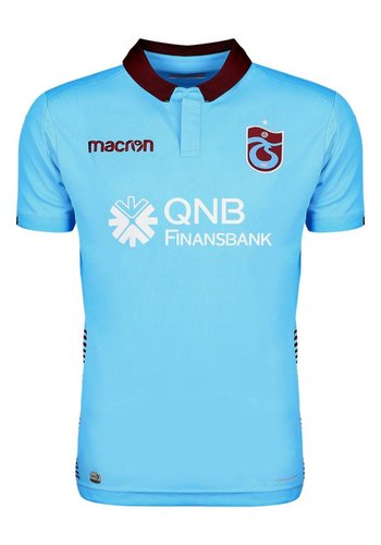 Trabzonspor Macron Kids Football Shirt Blue