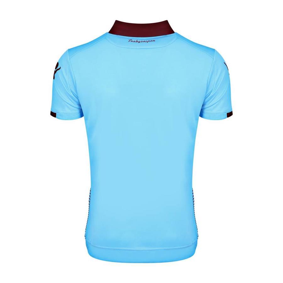 Trabzonspor Macron Blauw Voetbalshirt Kinderen