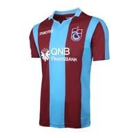 Trabzonspor Macron Gestreift Bordeauxrot Blau Trikot Kinder