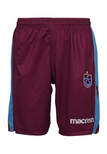 Trabzonspor Macron Bordeaux Short Kinderen