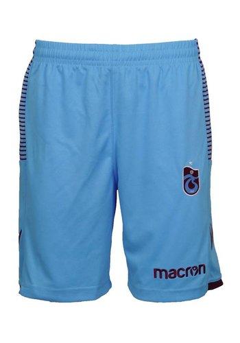 Trabzonspor Macron Blauw Short Kinderen