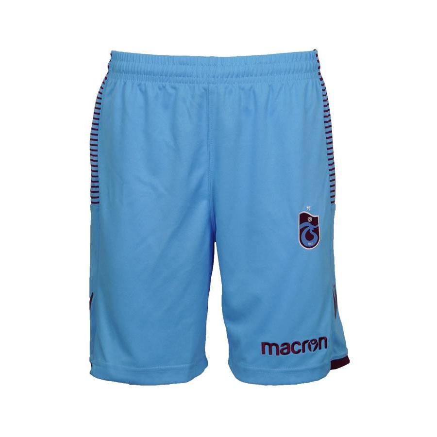 Trabzonspor Macron Blau Short Kinder