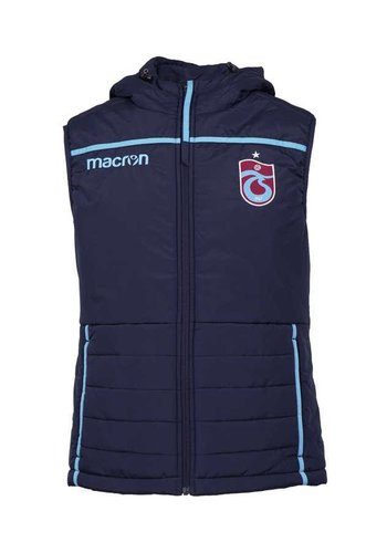 Trabzonspor Macron Hooded waistcoat