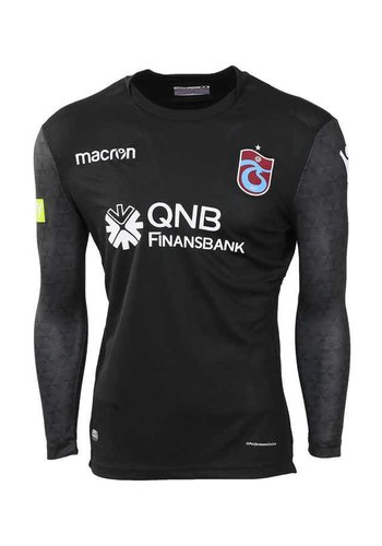 Trabzonspor Macron Schwarz Torwarttrikot