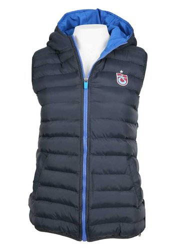Trabzonspor Marineblauw Bodywarmer Dames