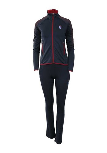 Trabzonspor Womens Zipper Tracksuit