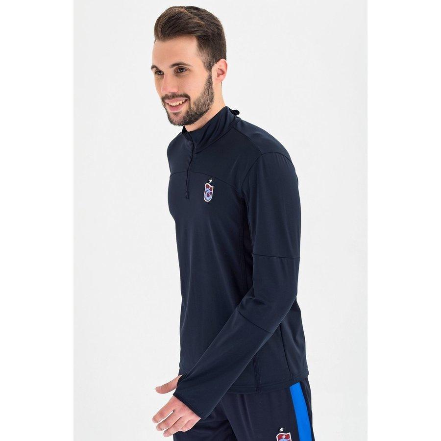 Trabzonspor Sweater mit halber reissverschluss