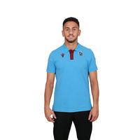 Trabzonspor Macron Training Polo T-Shirt Blau