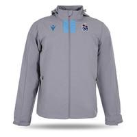 Trabzonspor Macron Training Regenmantel Grau