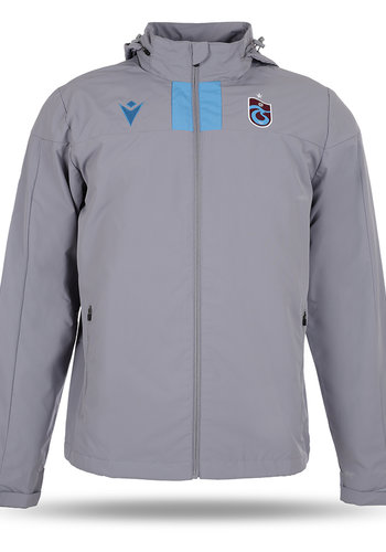 Trabzonspor Macron Training Raincoat Grey