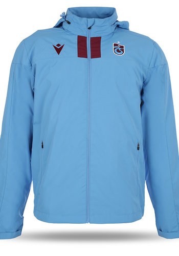 Trabzonspor Macron Training Raincoat Blue