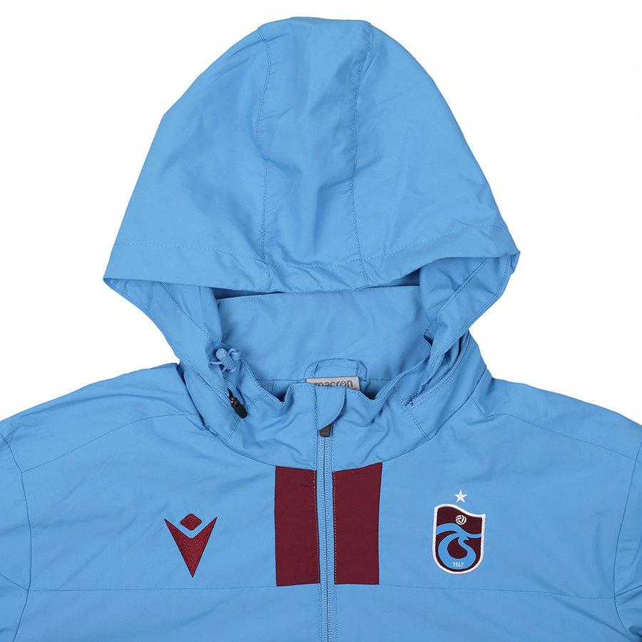 Trabzonspor Macron Training Raincoat Blue