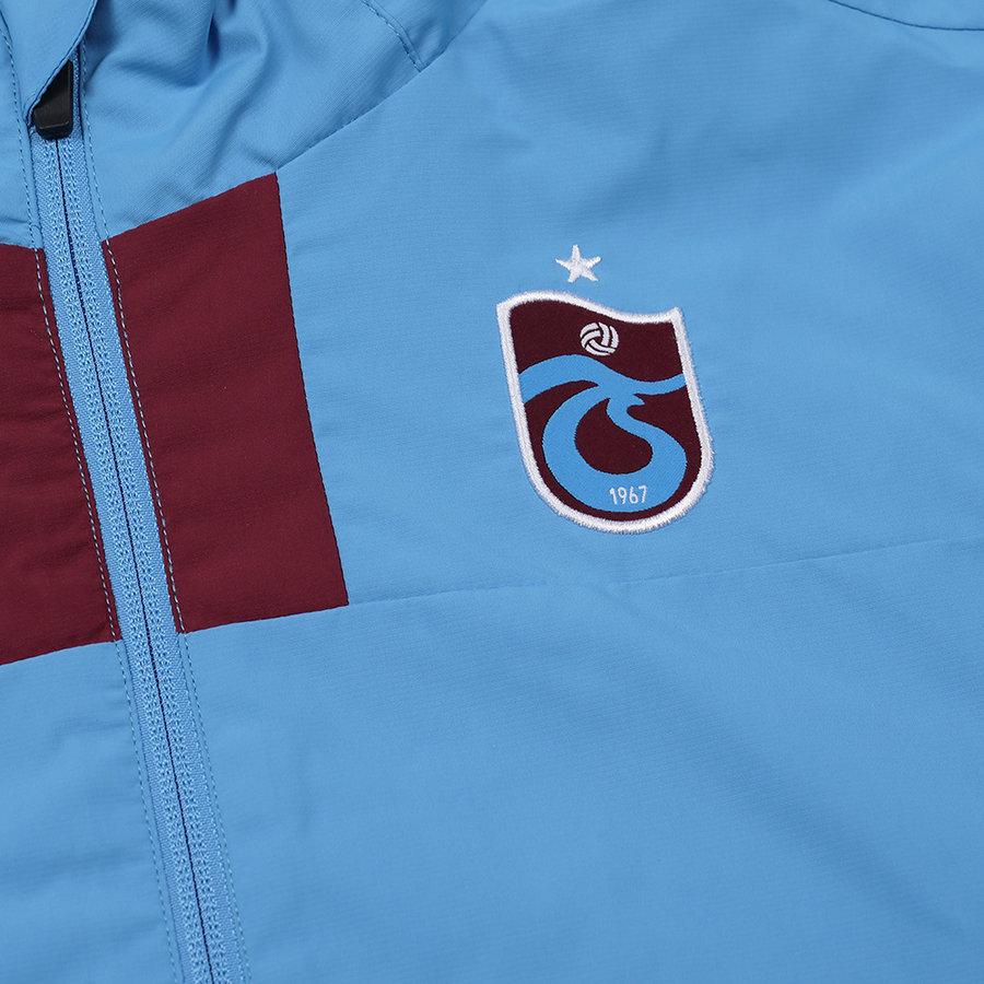 Trabzonspor Macron Training Regenjas Blauw