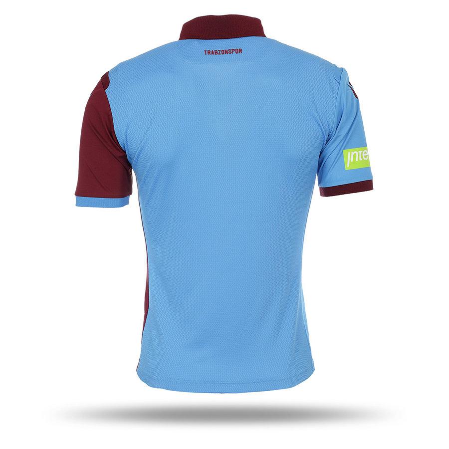 Trabzonspor Macron Shirt Bordeaux Blauw