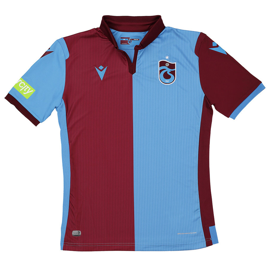 Trabzonspor Macron Trikot Bordeauxrot Blau