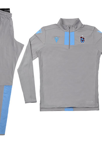 Trabzonspor Macron Trainingsanzug Grau